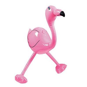 FLAMAND ROSE GONFLABLE 24 PO.