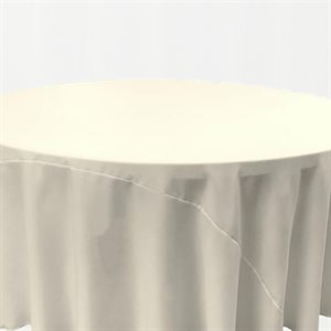 NAPPE RONDE EN POLYESTER 132 PO. - LOCATION