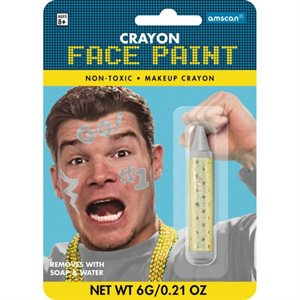 Crayon face stick sports silver